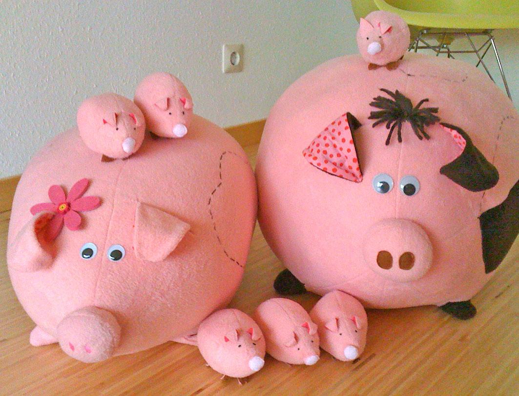 Schweinchenbild für Blogbeitrag Intervie mit Kasia für Stoff und Liebe